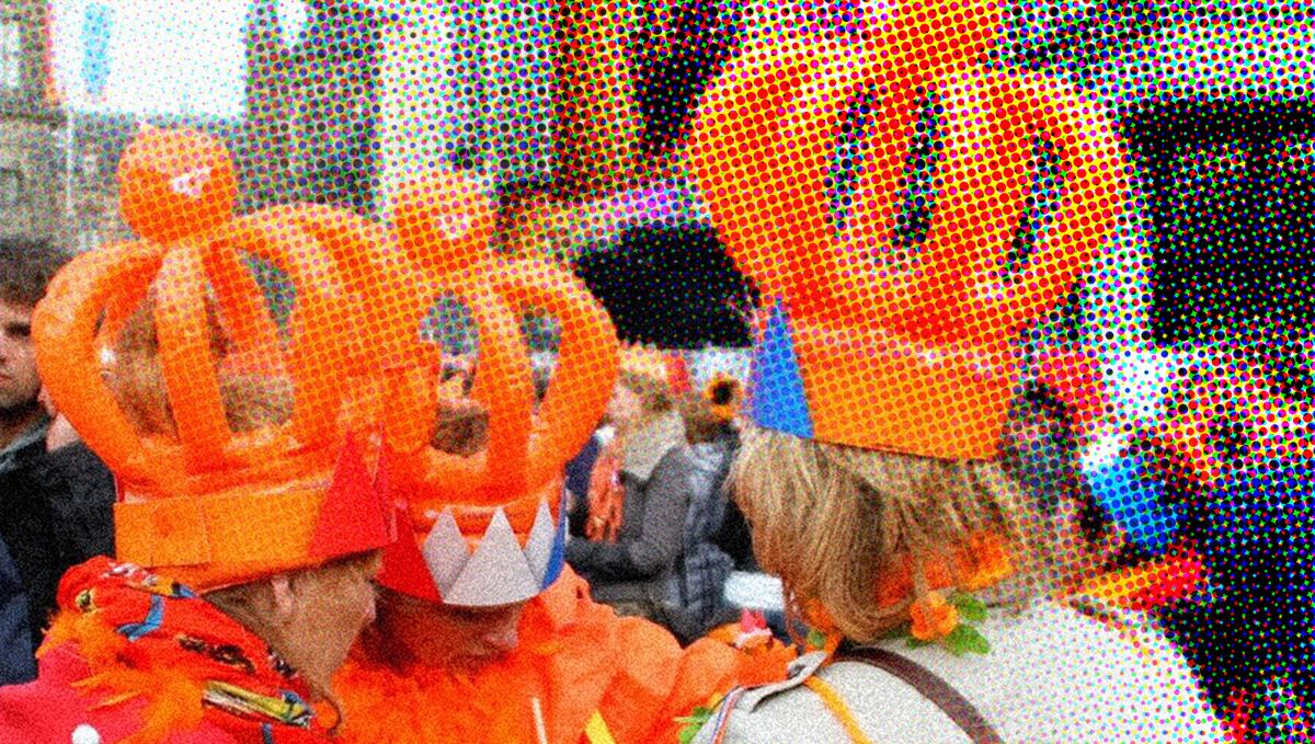 Van Oranjegekte tot de gekke wereld van de Oranjes - Ellaster