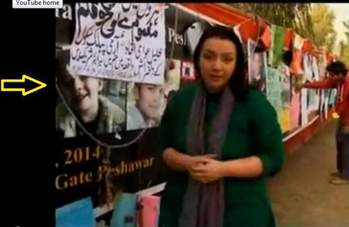Treurmuur met vermeende slachtoffers door schietpartij Taliban.