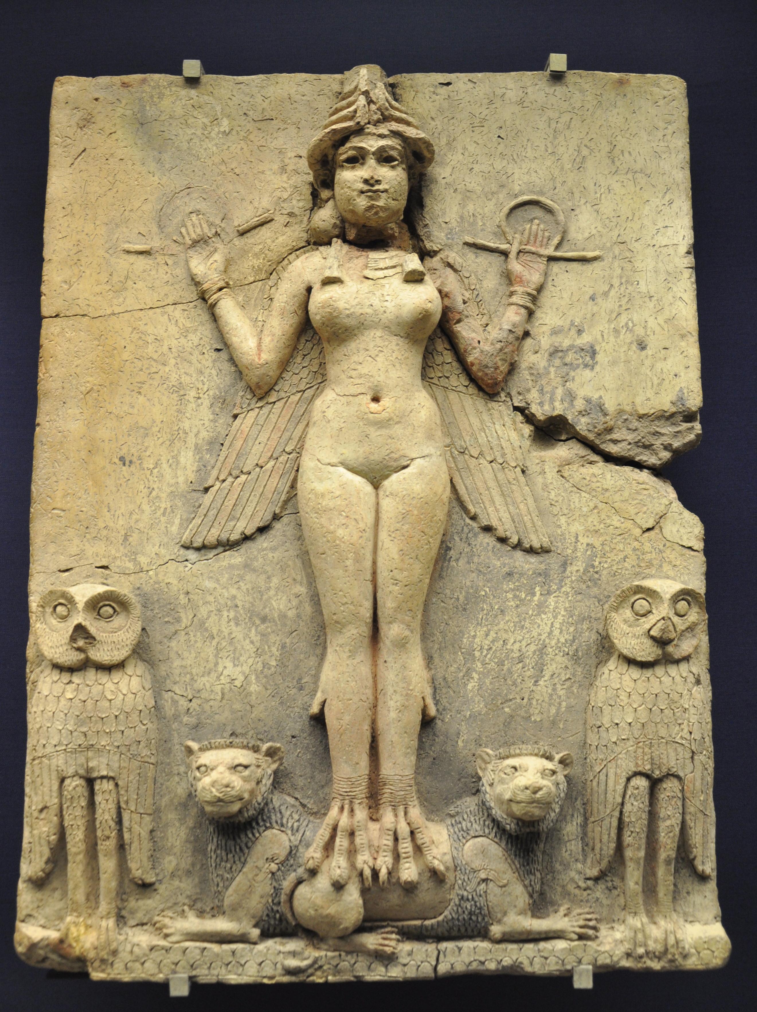 Lilith de Babylonische koningin van demonen