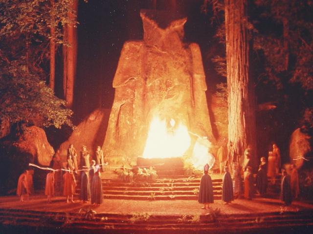 Cremation of Care ceremonie