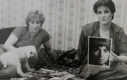 Erika Wohlers en haar dochter Bettina Hübers