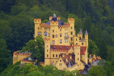 Hohenschwangau in Beieren