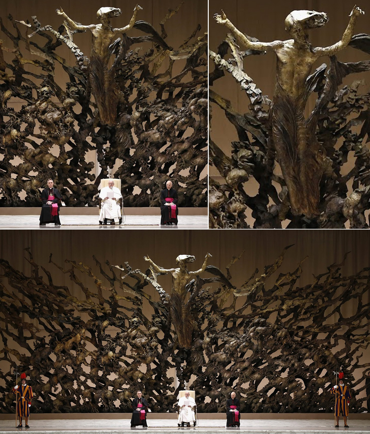 papal_throne_vatican_collage