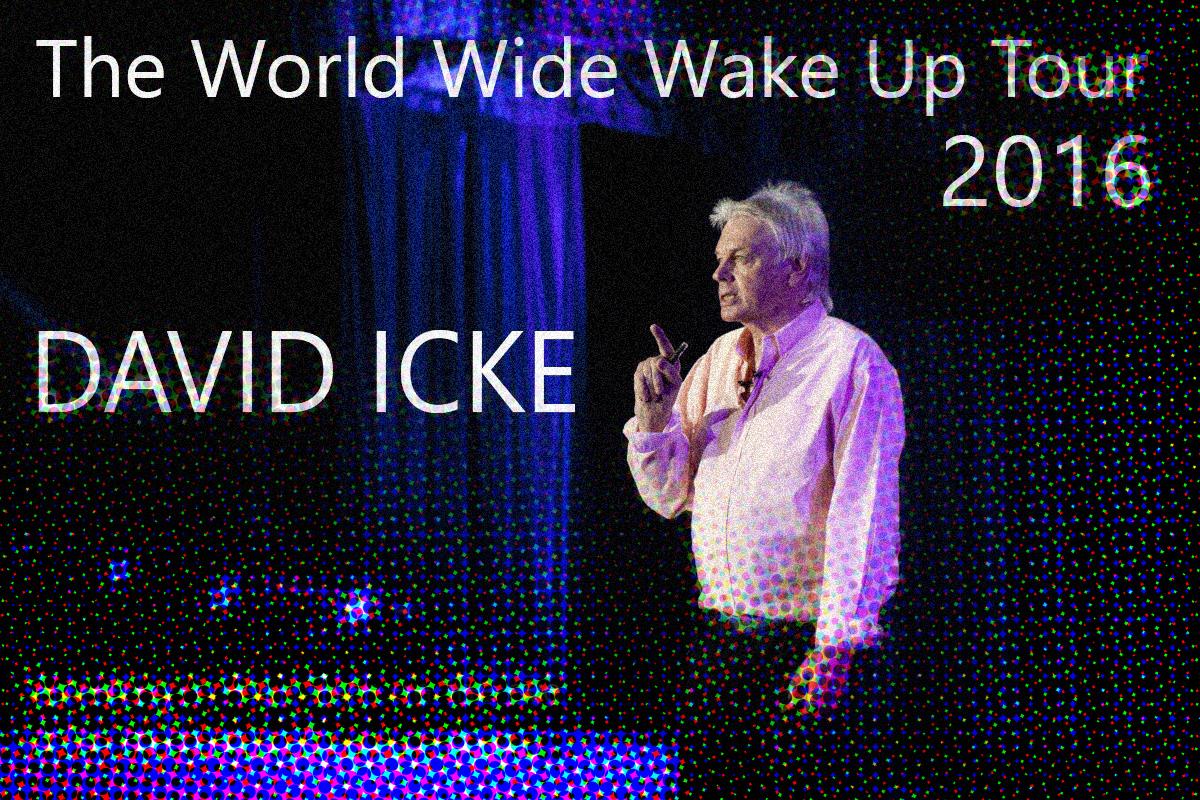 David Icke in de RAI 19 november in een notendop