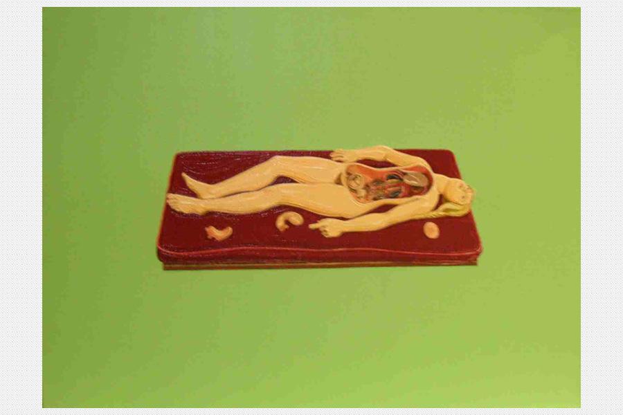 """""""Inner piece"""" van Julie Roberts onderdeel van Podesta's kunstcollectie"""