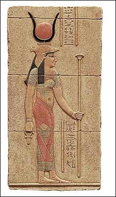 Godin Isis met scepter