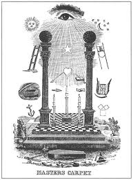 Het oog als symbool van de Opperbouwmeester van het heelal bij de Vrijmetselaars.