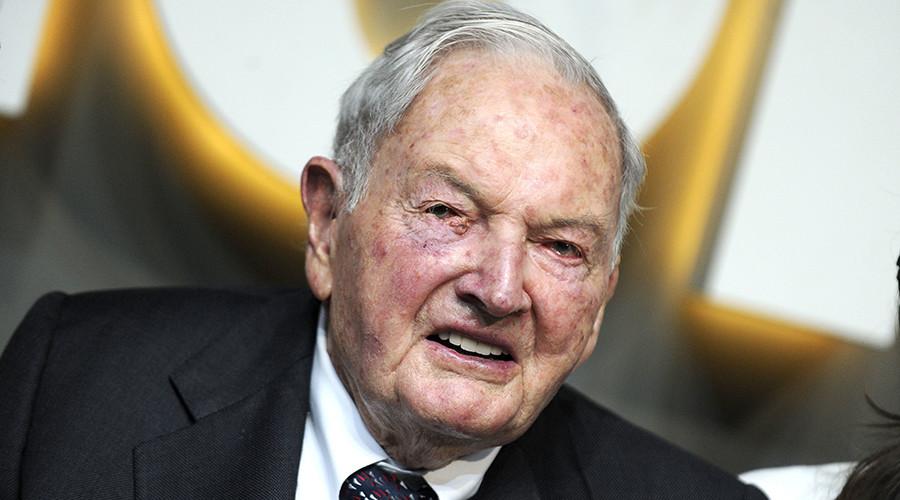 David Rockefeller in zijn slaap gestorven