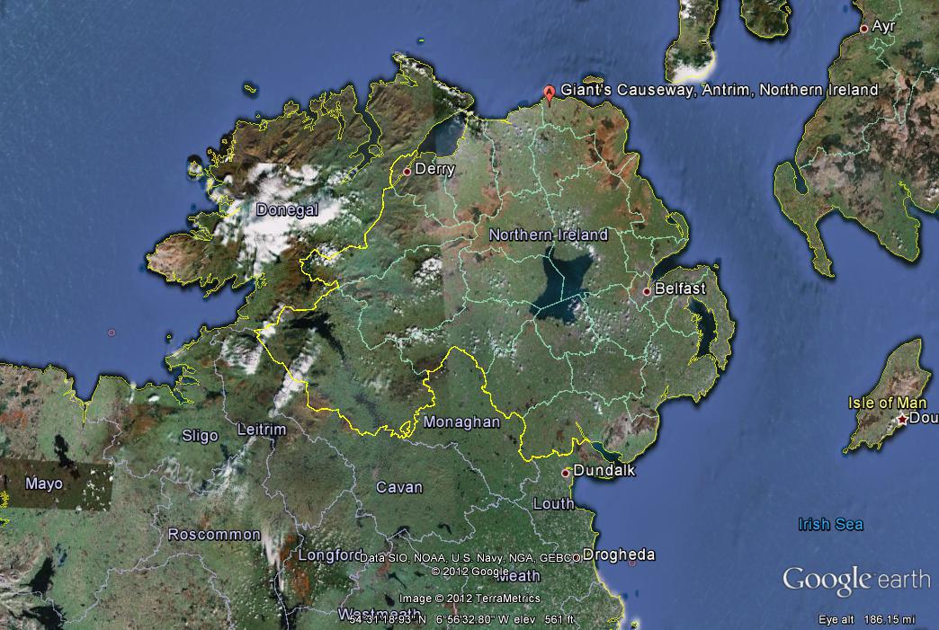 giantscausewaymap ellaster