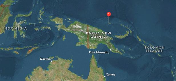 Kingdom of Manna is een nieuwe souvereine staat op Manus Eiland boven Papoea Nieuw-Guinea