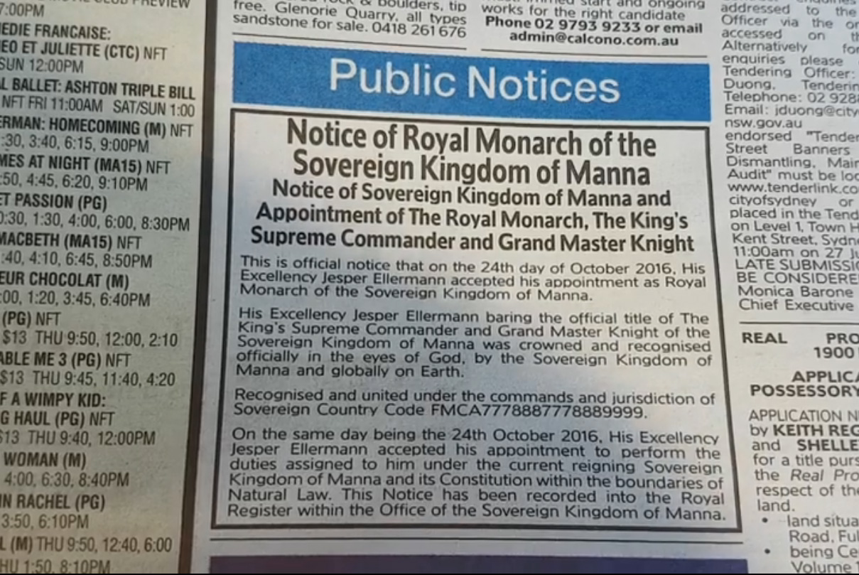 Public_notice_paper_Kingdom_of_Manna