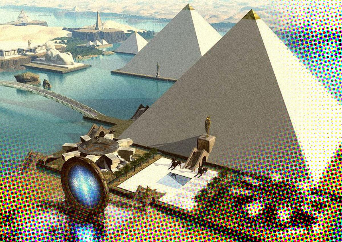 Grafheuvels en piramides bevatten verborgen spirituele kennis