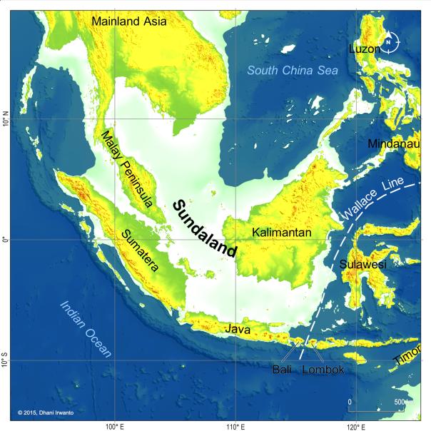 In de ijstijd zat Java vast aanZuid-Oost-Azië