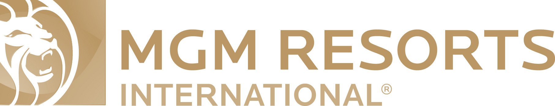 Logo with lion of MGM Resorts