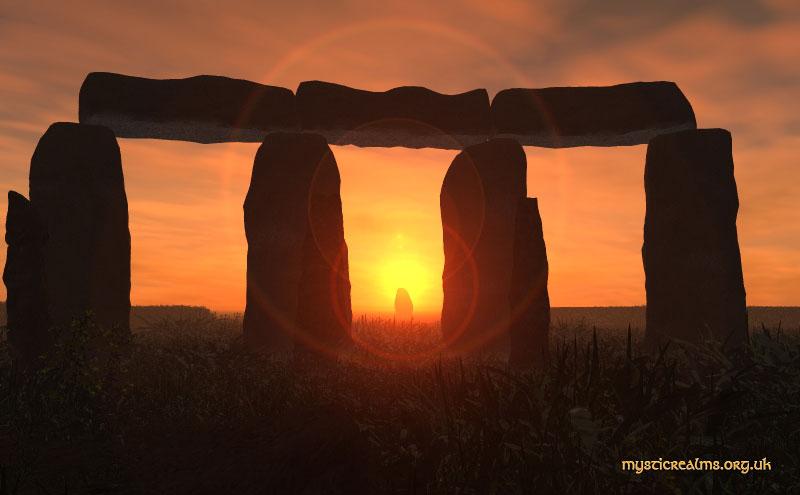 Opkomst zon Stonehenge