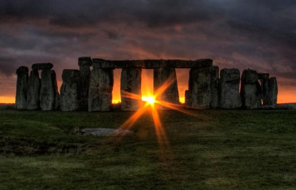 Zonopkomst Stonehenge