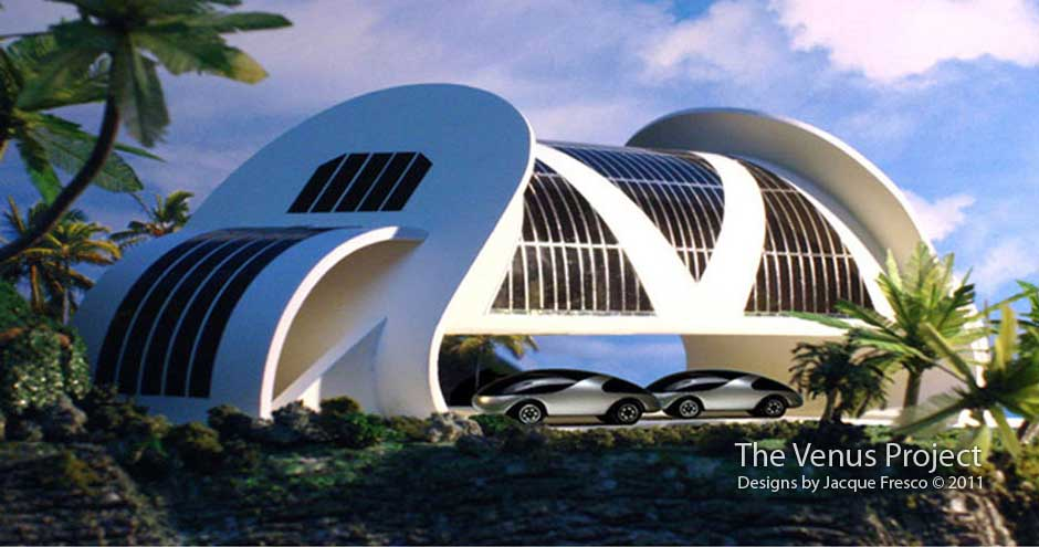 De architectonische vorm is afgeleid van de functionaliteit