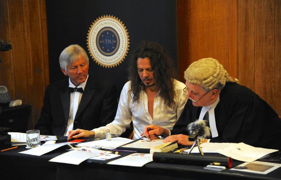 Inauguratie en ceremoniële zitting