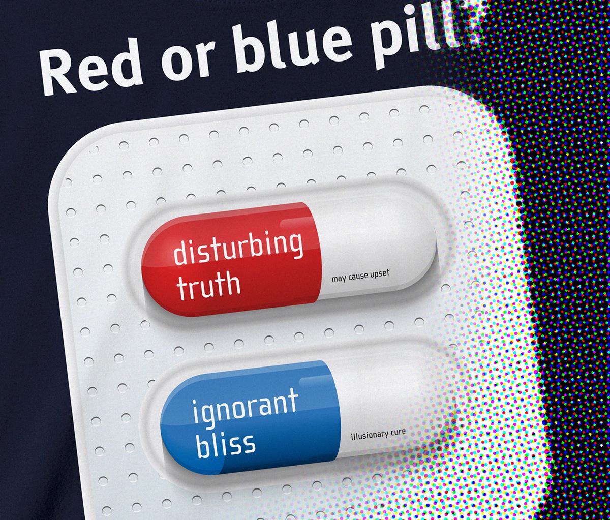 Rode pil of blauwe pil?