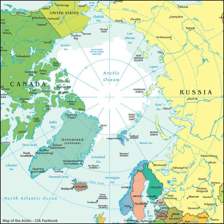 Zuid-Groenland ligt ter hoogte van de Scandinavische landen