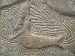 Soemerische god: half mens, half vis.