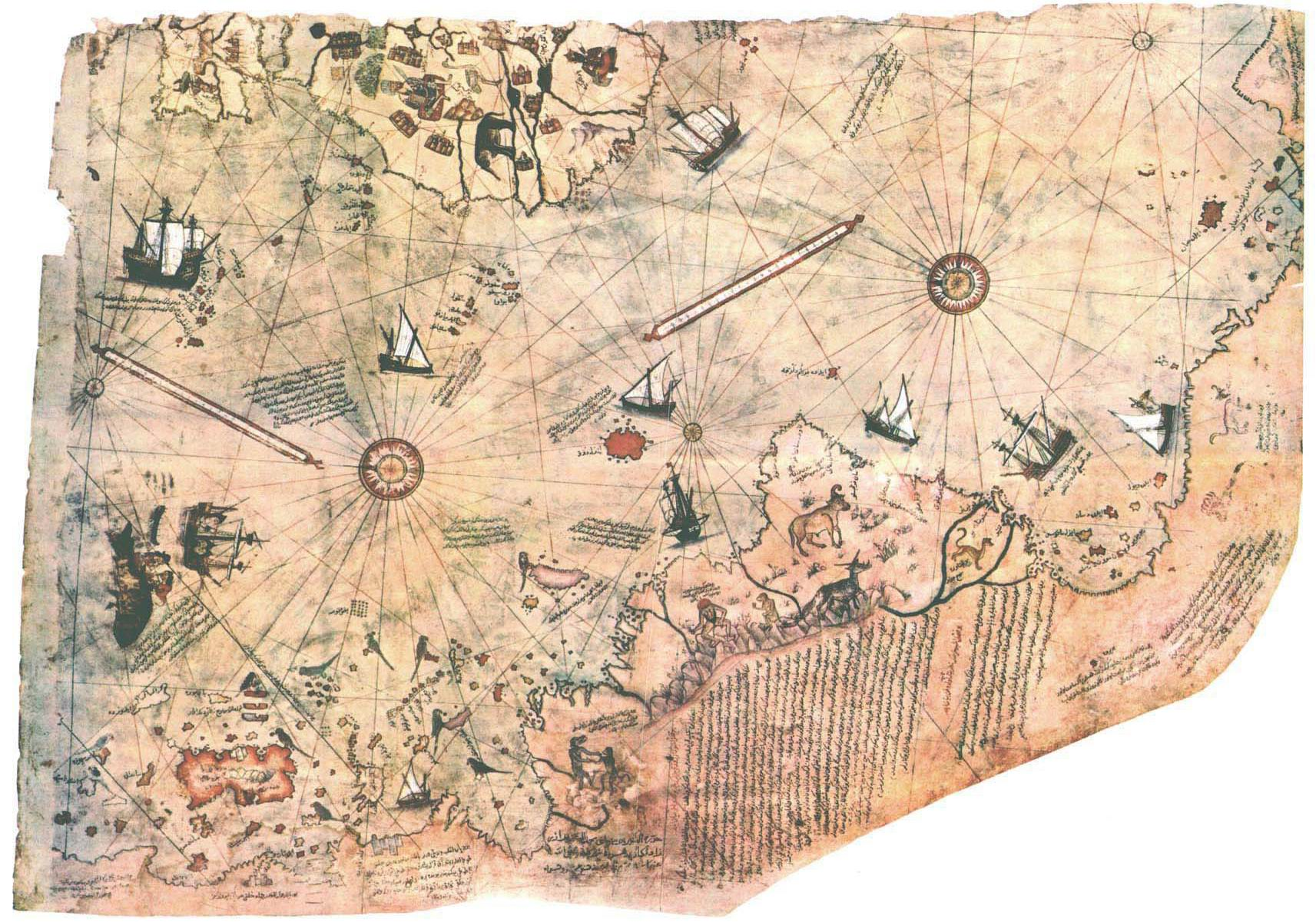 Antieke kaarten Antarctica impliceren prehistorische beschaving