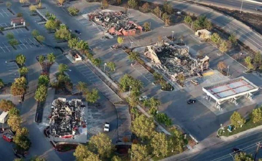 Ook andere bedrijven zijn met chirurgische precisie verbrand, zonder dat de branden overgeslagen zijn.