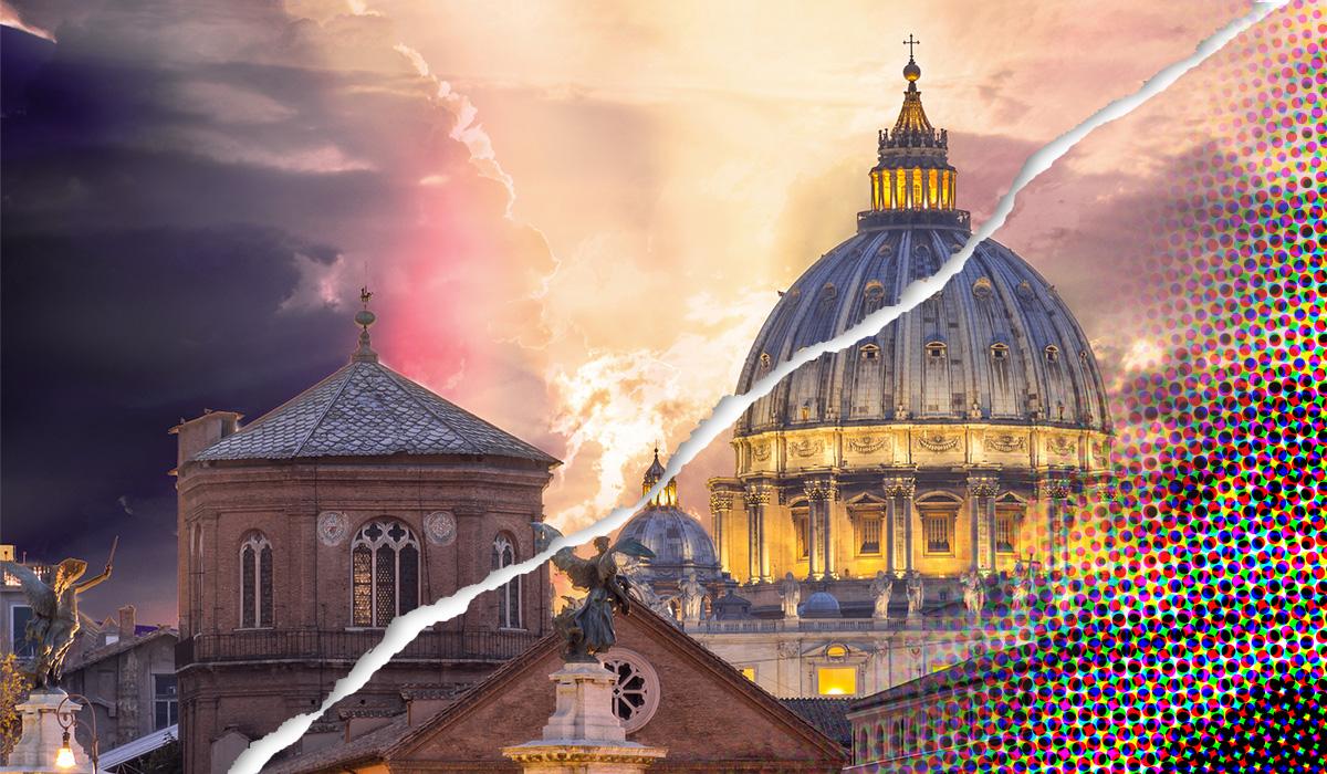 Vaticaan-bolwerk vertoont steeds grotere scheuren