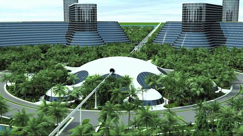 Cirkelvormige steden zijn het meest efficiënt. Deze steden zijn een combinatie van hypermoderne architectuur, geavanceerde technologie en natuur.
