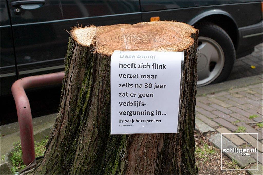 Er is geen maatschappelijke steun voor dit beleid. Foto: Thomas Schlijper, schlijper.nl