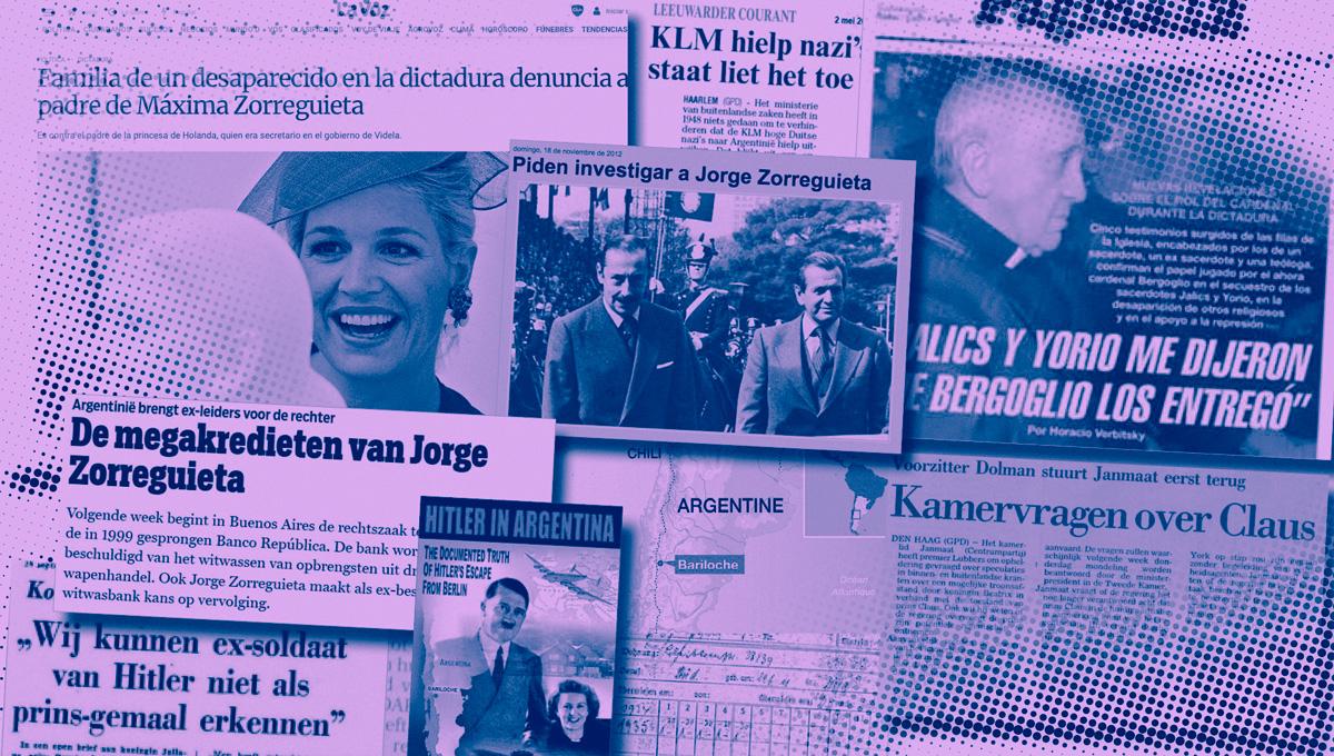 Het duistere familieverleden van Máxima en Willem-Alexander