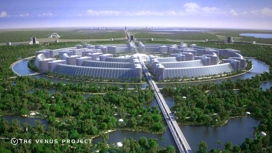 Door een efficiënte stedenbouwkundige structuur, kunnen mensen zowel nabij het centrum van de stad wonen als in een paradijselijke omgeving.