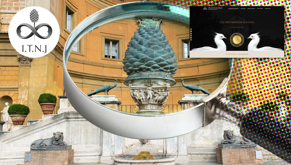 A closer look at the symbolism of the ITNJ (International Tribunal of Natural Justice)