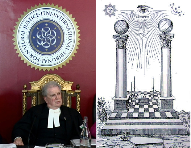 A closer look at the symbolism of the ITNJ (International Tribunal of Natural Justice) Masonic_Golden_Throne_ITNJ