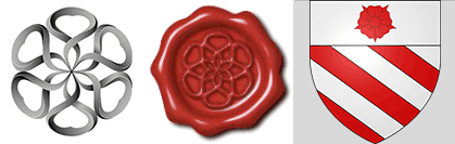 A closer look at the symbolism of the ITNJ (International Tribunal of Natural Justice) Rosette_seal_Orsini_family_crest