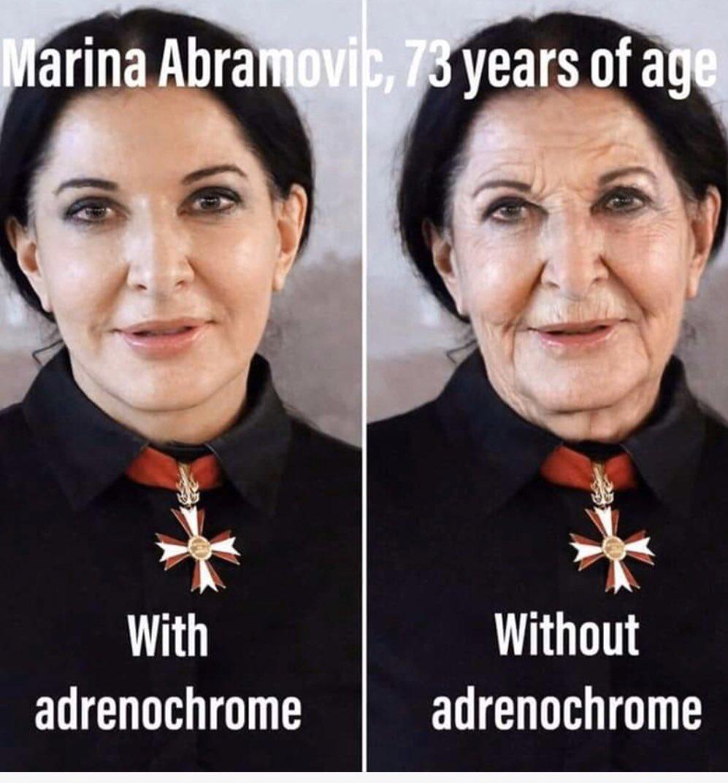 Marina Abramovic 73jaar