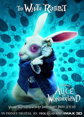 Follow the White Rabbit, in Alice and Wonderland.