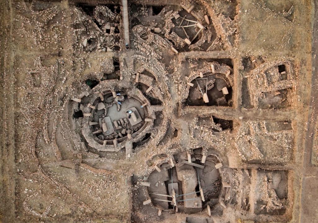 Göbekli Tepe bestaat uit meerdere steencirkels.