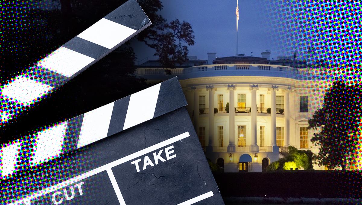 Filmset Joe Biden tòch in Washington DC?