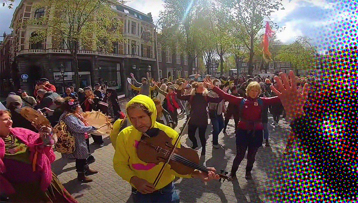 flashmob Danser Encore Spui Amsterdam