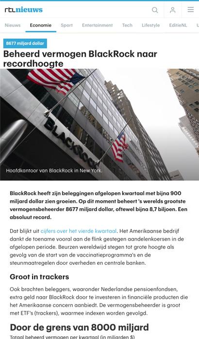 Blackrock-winst