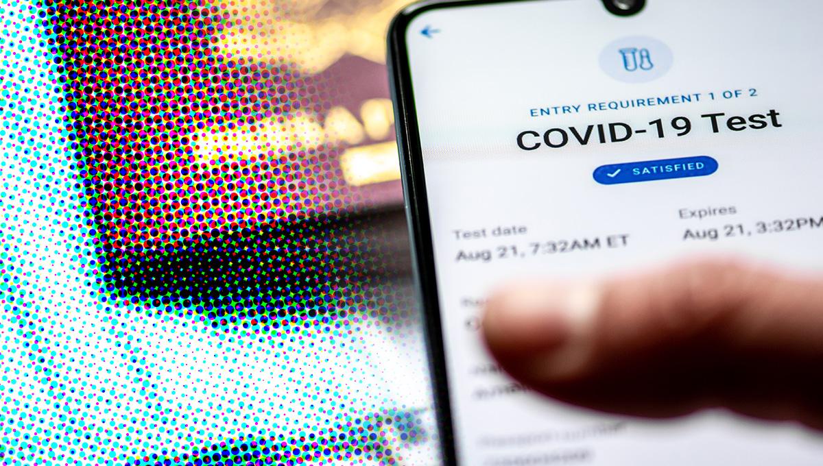 covid-test covid-app